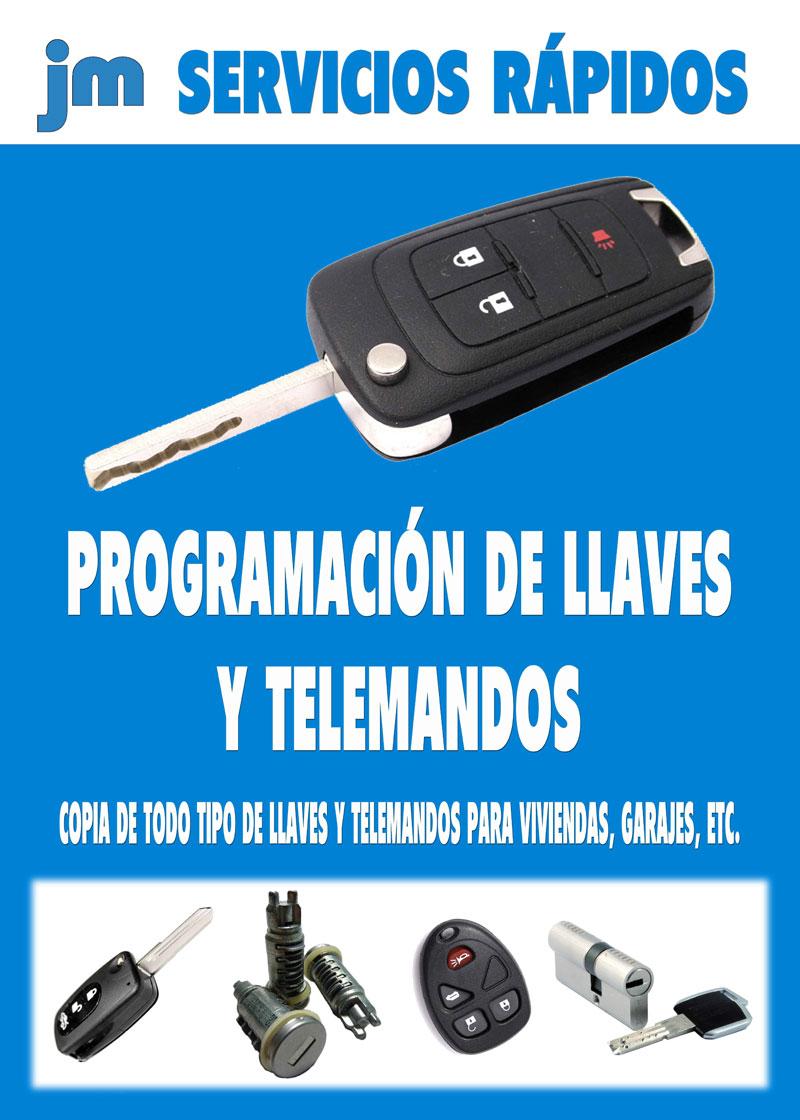 programación de llaves